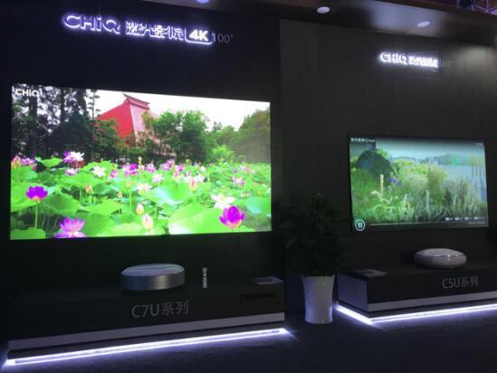 """激光电视进入""""规模发展期""""阶段  长虹欲用4K产品""""卡位""""市场-视听圈"""
