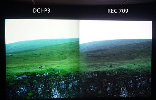 明基广色域4K投影机在CIT展大闪身手-视听圈
