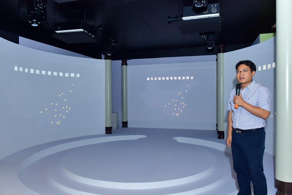 """中航国画要打造投影""""画""""时代  坚持走高流明、高分辨率的技术路线-视听圈"""