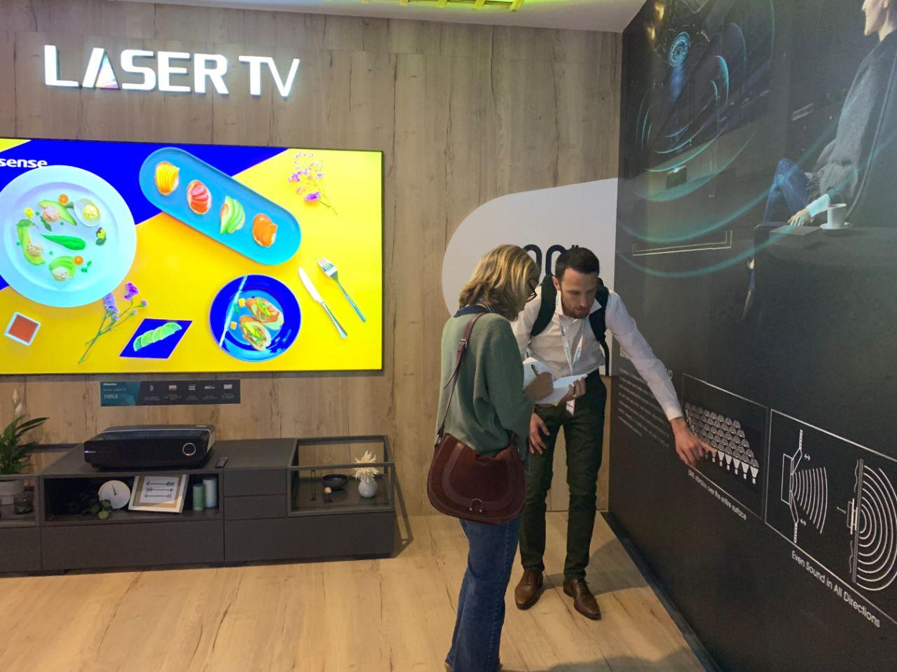 技术新突破!海信IFA发布屏幕发声激光电视-视听圈