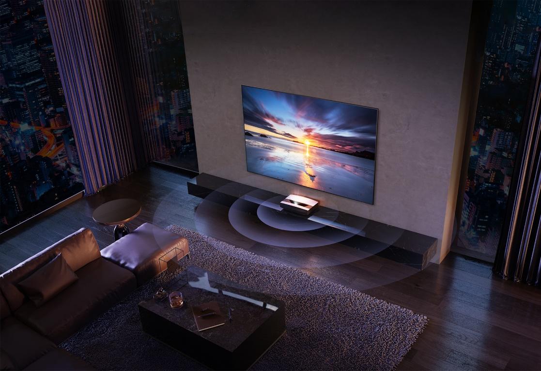 时隔一年后再出新品 极米推出全新4K激光电视A2系列-视听圈