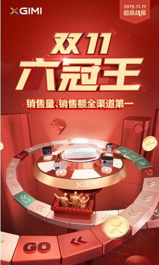 2019年前三季度中国投影市场出货量极米位列第一-视听圈