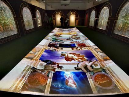《今日文献展》北京开幕,明基工程投影诠释多彩影像艺术-视听圈