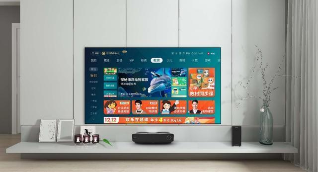 """激光电视2019年出货20万台,增速回落后能影响其""""大""""趋向吗?-视听圈"""