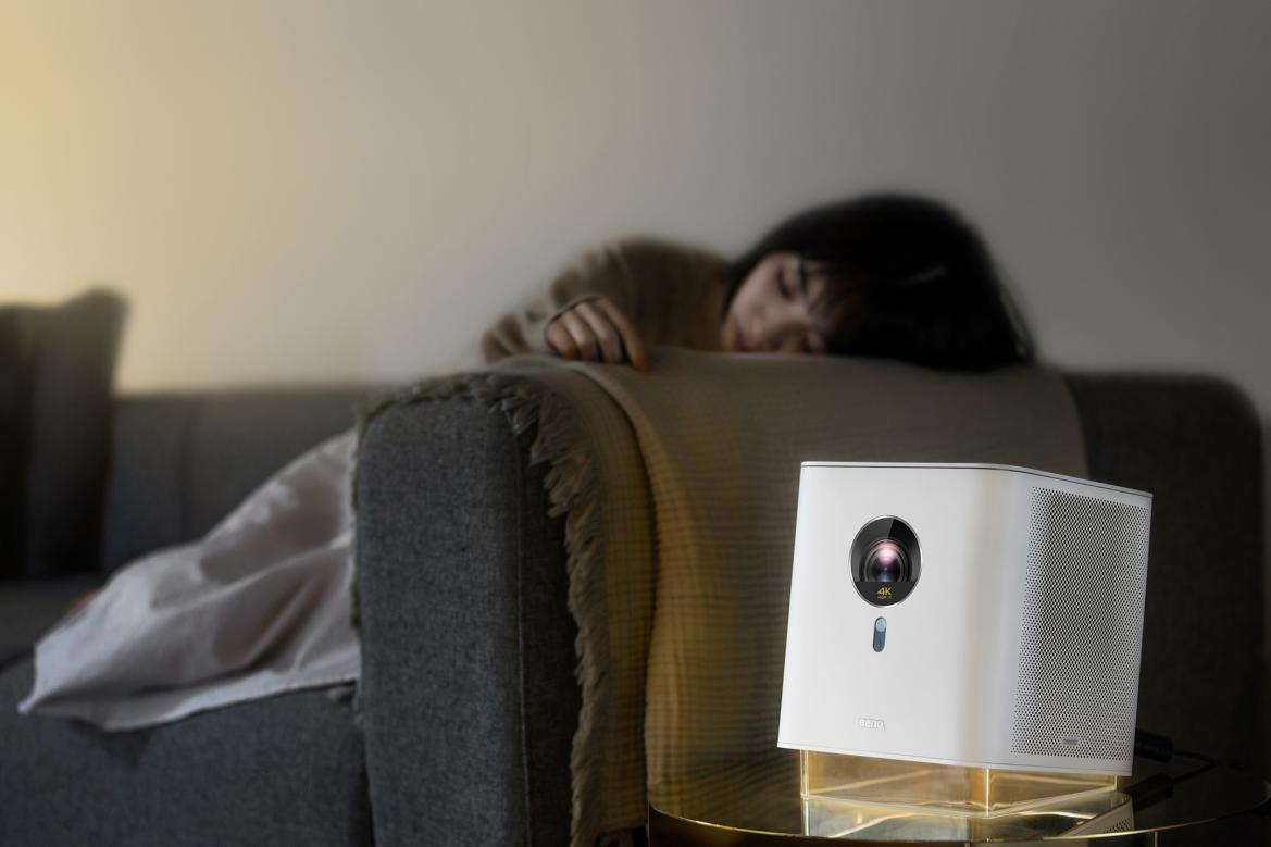 明基智能4K居家美学投影机GK100美意上市-视听圈