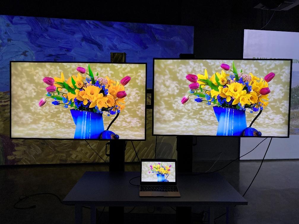 获得潘通认证的BenQ睛彩系列设计屏,和其它商显屏有何区别?-视听圈