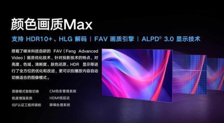 """一款叫""""Max""""激光家庭影院身上具有哪些标签?峰米给出""""模板""""-视听圈"""